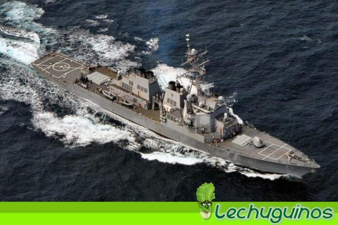 Armada rusa vigila un destructor de EEUU en el mar Báltico