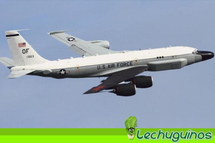 Avión de EEUU usa código de transpondedor para espiar a China
