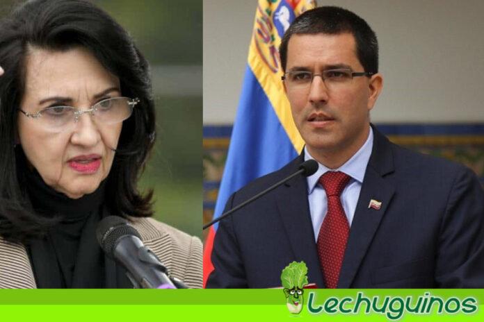 Canciller Arreaza le recuerda a su homóloga colombiana que Venezuela no es miembro de la OEA
