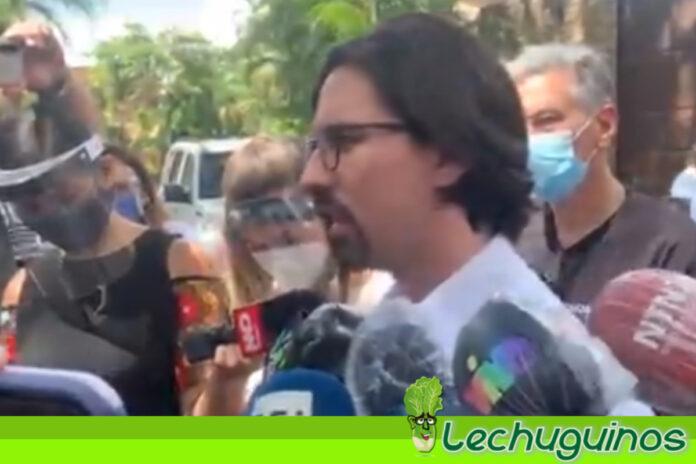 Freddy Guevara aceptó el indulto de Maduro y salió de la Embajada de Chile