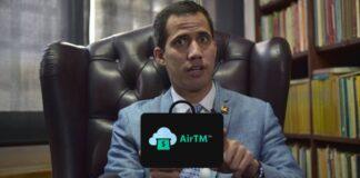 Guaidó cuadró con AirTM para robarse el 3% de la limosna a supuestos médicos