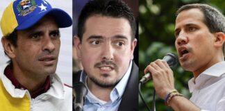 Guaidó se deslinda de Capriles y Stalin González por querer la reconciliación