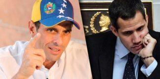 Henrique Capriles le contestó a Guaidó y lo llamo mentiroso y manipulador