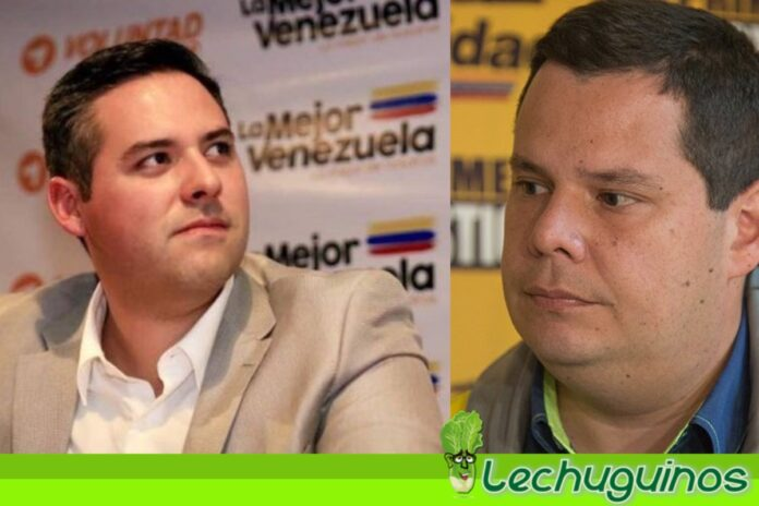 Juan Carlos Caldera y Yon Goicoechea se sacan los trapos sucios