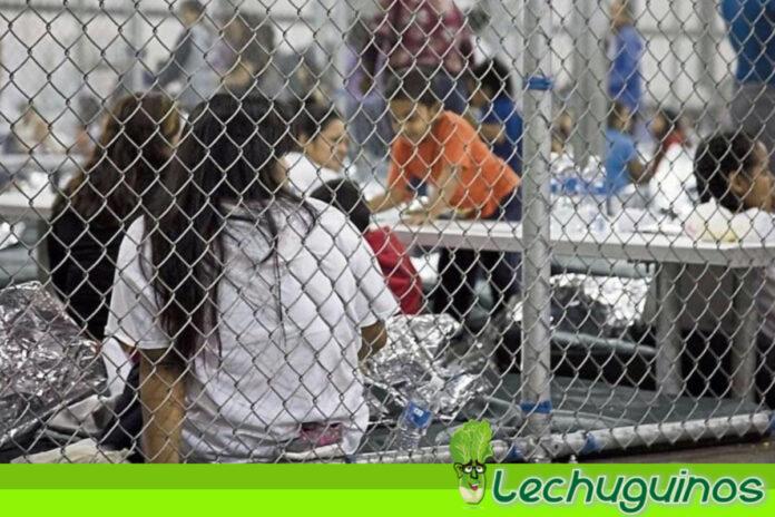 Estados Unidos envía a niños migrantes a bases militares