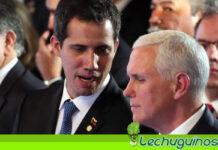 Mike Pence y Guaidó una vez más prometen que sacaran a Maduro