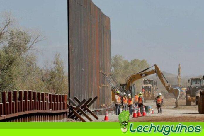 Biden se quita la careta y asegura que continuará con muro fronterizo de Trump