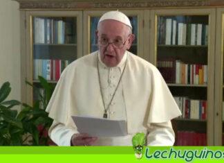 Papa Francisco exige reducir sanciones internacionales a países