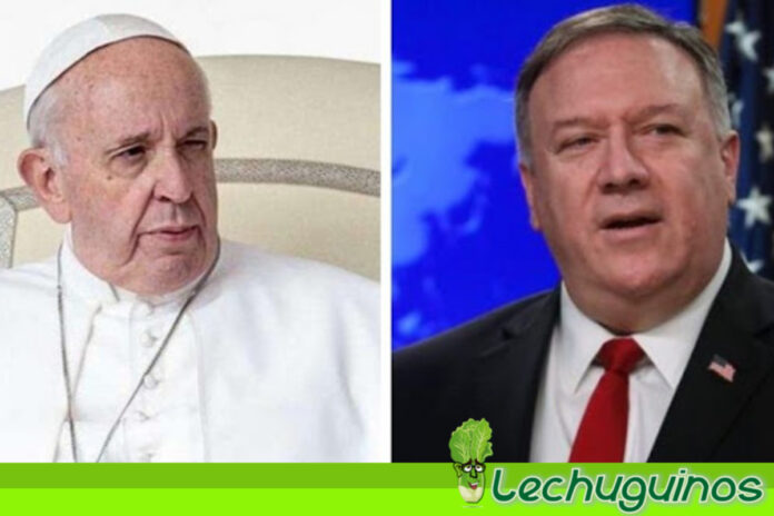 Papa Francisco no recibirá Mike Pompeo en El Vaticano