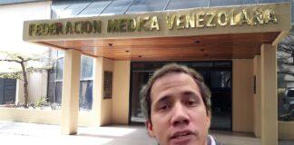 Vea cómo estuvo la sede de la Federación Médica Venezolana tras convocatoria de Guaidó
