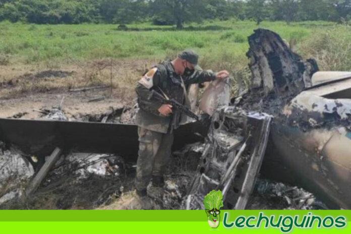 Venezuela inutiliza una aeronave estadounidense de narcotráfico