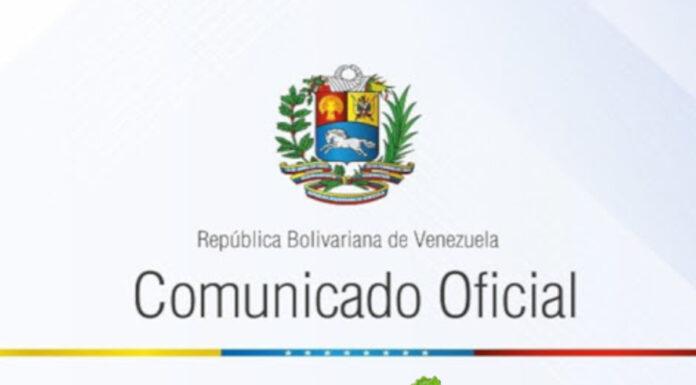 COMUNICADO: Venezuela exhorta a liberar de inmediato a Alex Nain Saab