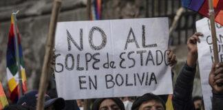 Alertan un segundo golpe contra la democracia en Bolivia