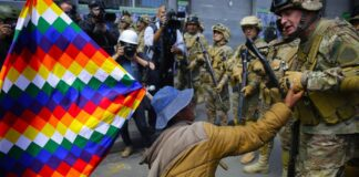 "Derecha boliviana pide ""auxilio militar"" para evitar que Arce asuma la presidencia"