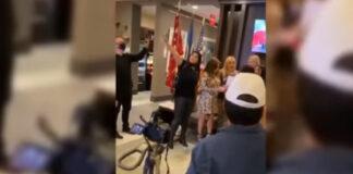 Escuálidos en Miami mezclan el himno de Venezuela con el de EEUU