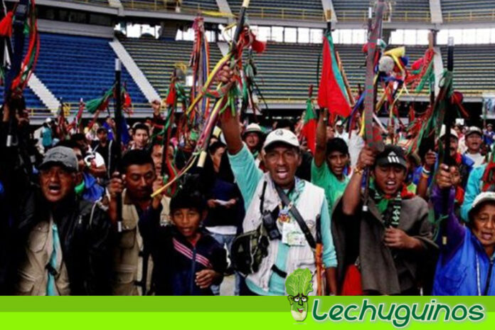 Indígenas llegan a Bogotá para presionar a Iván Duque