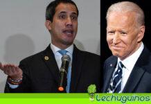 Guaidó le suplica a Biden que no lo deje solo en su saqueo a Venezuela