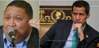 José Brito estalló de la arrechera y llamó ladrón a Juan Guaidó (+TUIT)