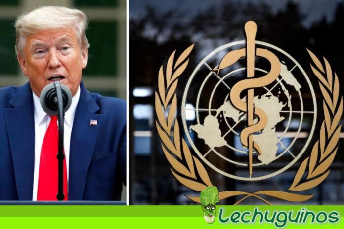 OMS ve irónico que Trump se haya contagiado con Covid-19
