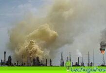 Vea como quedó la refinería de Amuay luego de ser atacada con un misil