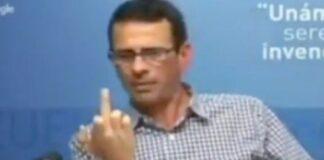 Capriles dice que no es relevante a quien reconozcan en Bruselas o Washington