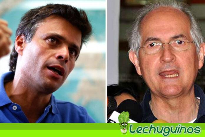 Ledezma descargó a Leopoldo López por querer ir a elecciones contra Maduro