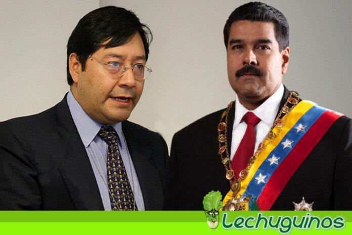 Luis Arce invita a Nicolás Maduro a su toma de posesión en Bolivia