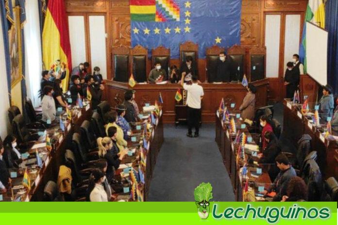 Partido MAS asume presidencia de la Cámara de Senadores de Bolivia