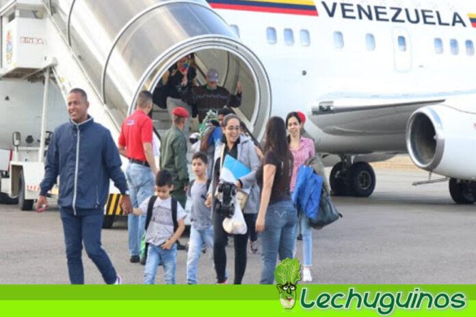 Plan Vuelta a la Patria retorna a 120 venezolanos desde Argentina