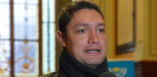 Diputado opositor Leandro Domínguez protagoniza otra golpiza con tiros y demás