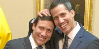 El hermano de Juan Guaidó se anda dando la gran vida en París