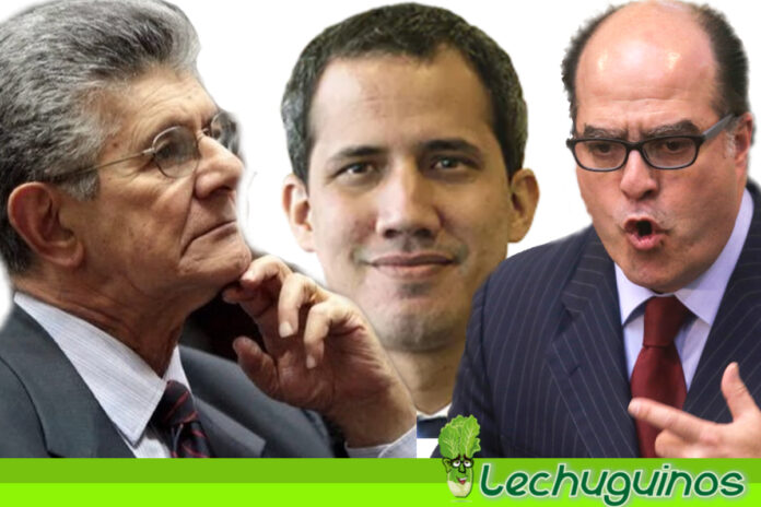 Ramos Allup y Julio Borges se deslindan de Guaidó