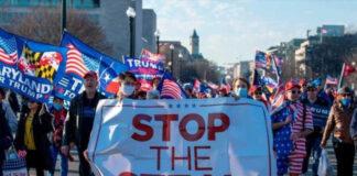 Trump convoca una marcha para impedir llegada al poder de Biden