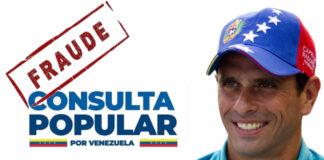 """Usurparon identidad de Capriles para """"votar"""" en la consulta popular de Guaidó"""