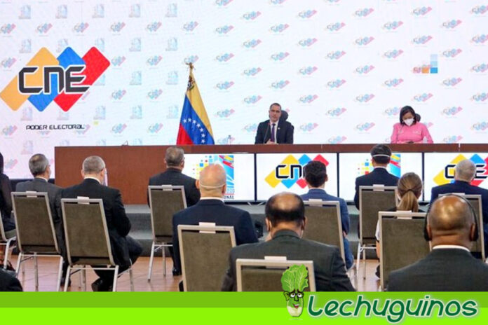 Venezuela presentó ante el cuerpo diplomático sistema de votación