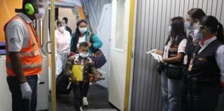 ¡VUELTA A LA PATRIA! Un total de 85 venezolanos fueron repatriados desde Ecuador