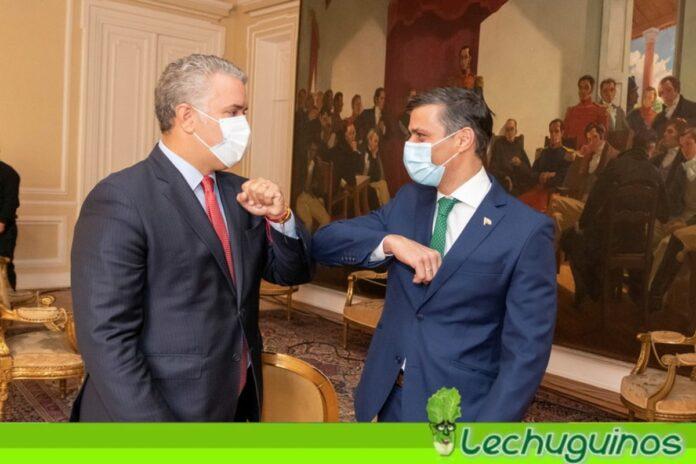 """Oposición colombiana censura """"vergonzosa"""" invitación de Duque a Leopoldo López"""