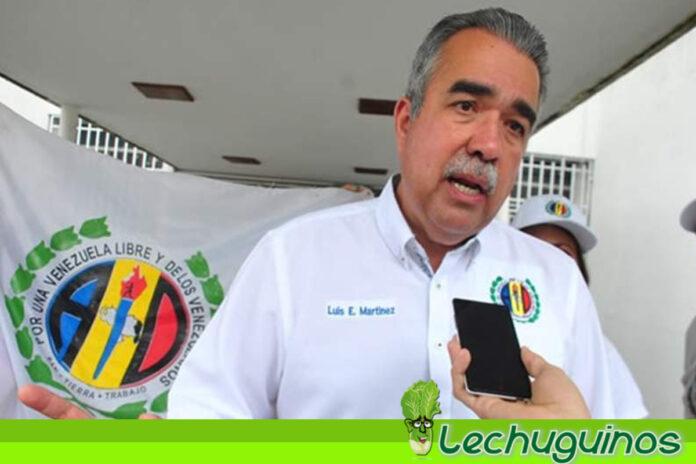 Diputado adeco Luis Eduardo Martínez apuesta al diálogo y la paz en Venezuela