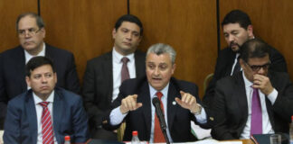 Jefe de Gabinete de Paraguay es interpelado en el Congreso por tratos fraudulentos con Guaidó