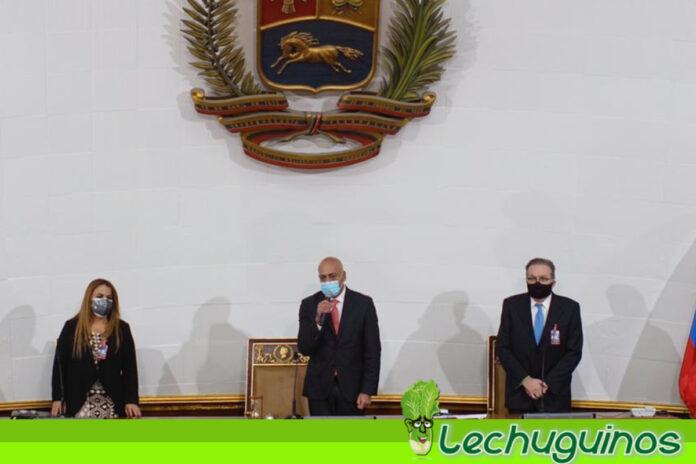 Jorge Rodríguez asume la presidencia de la nueva Asamblea Nacional