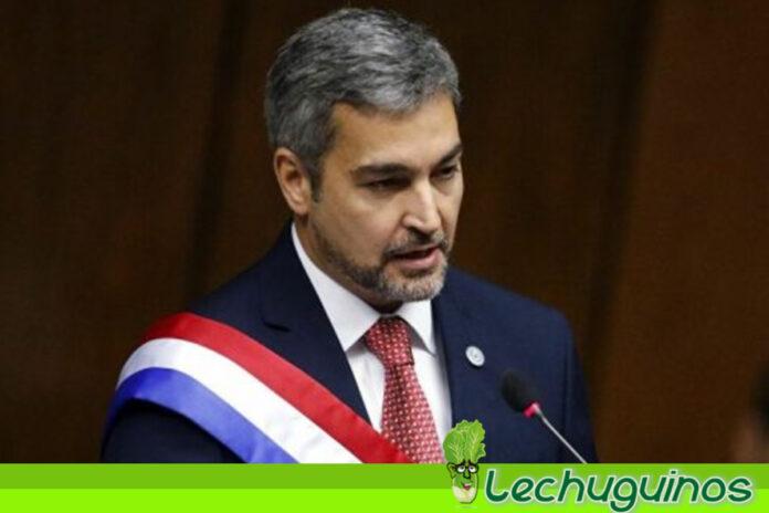Proponen enjuiciar a presidente de Paragua Mario Abdo Benítez y por contacto secreto con emisario de Guaidó