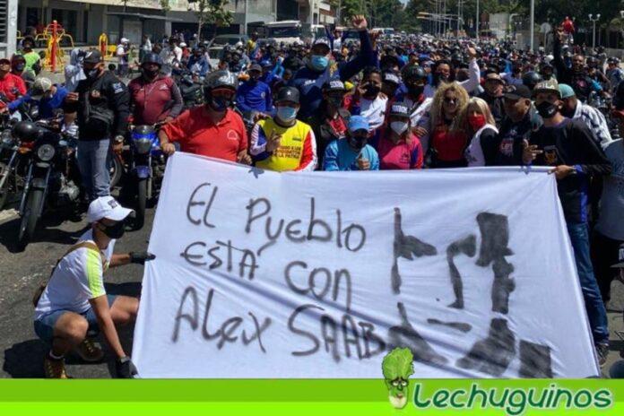 Venezolanos hacen tendencia la etiqueta #AlexSaab en rechazo a su ilegal prisión