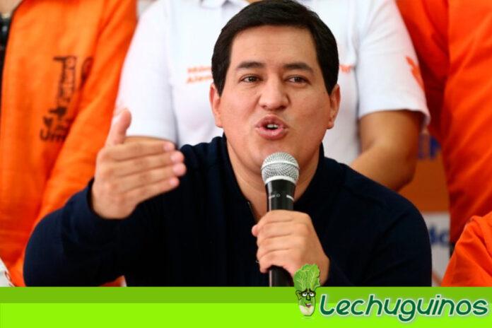 Andrés Arauz al ganar la presidencia de Ecuador no reconocerá a Guaidó