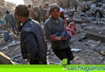 Bombardeo gringos en Siria matan al menos a 22 personas