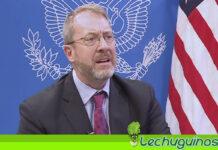 James Story: EEUU no está involucrado en propuesta de Guaidó de levantar sanciones