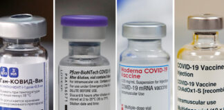 Vea la comparación las cuatro principales vacunas contra el covid-19