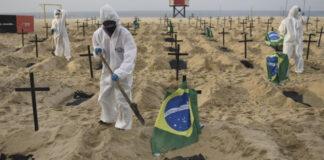 Brasil es el único país en el mundo con más de 3 mil muertes diarias por Covid-19