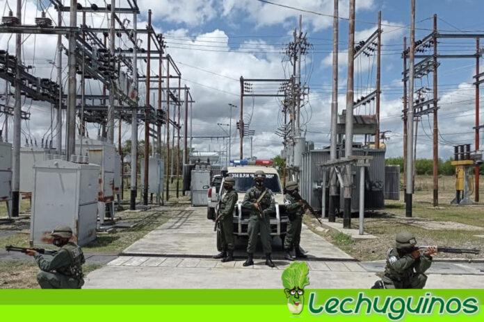 FANB se despliega para resguardar Sistema Eléctrico Nacional