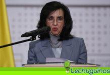 Canciller colombiana Claudia Blum renunció oficialmente a su cargo
