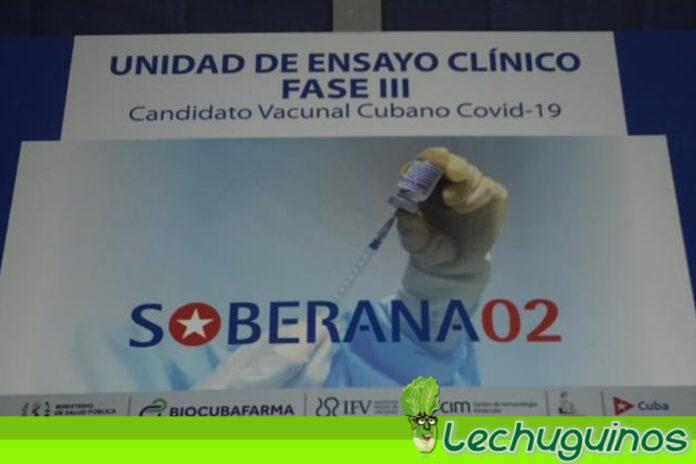 Cuba inició última fase de ensayos clínicos de sus vacunas Soberana 02 y Abdala